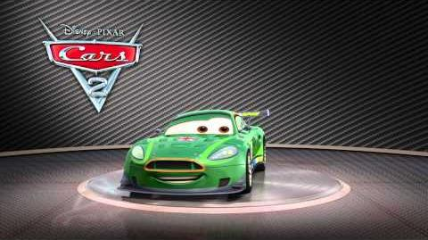 "Cars 2 Turntable ""Nigel Gearsley"""