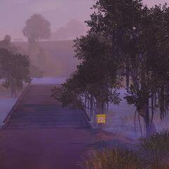 Stary most na potoku