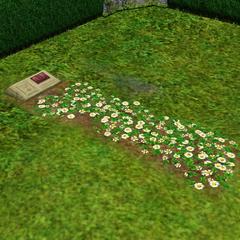Nagrobek na cmentarzu u rodziny Ćwir