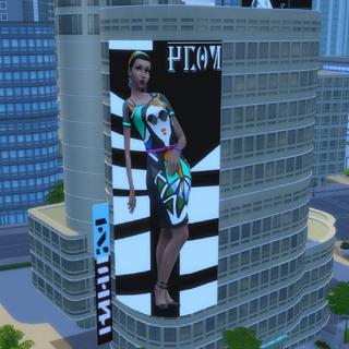 Billboard ze zdjęciem Penny.