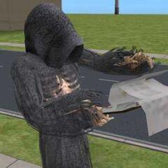 Mroczny Kosiarz z <i>The Sims 2</i>