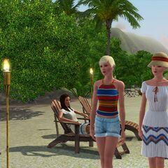 plaża w Isla Paradiso