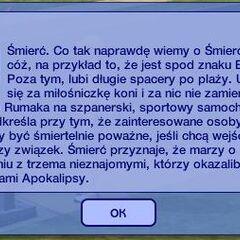 Finał w <i>The Sims 2</i>