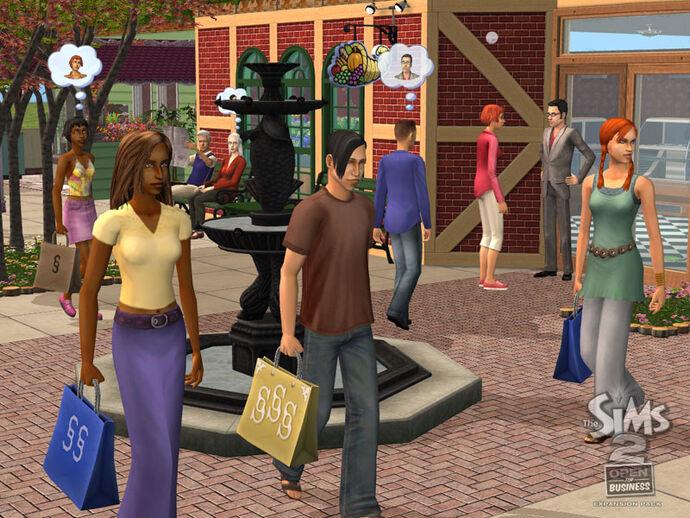 The Sims 2: Własny biznes