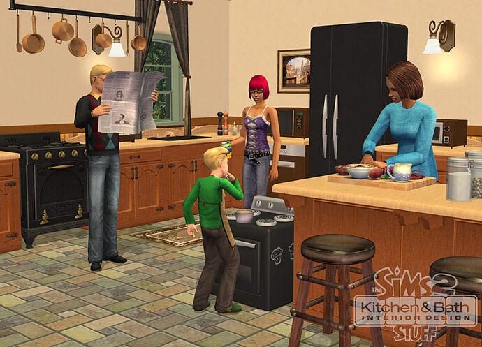 The Sims 2: Kuchnia i Łazienka