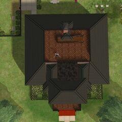 ...i dachu posiadłości Ćwirów