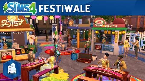 The Sims 4 Miejskie życie oficjalny zwiastun festiwali