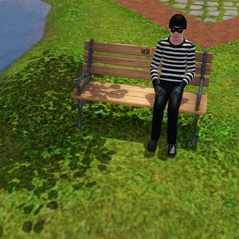 Robbie`go bardzo często można spotkać w parku. Szczególnie na festiwalach sezonowych.
