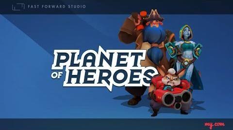 Planet of Heroes - Gameplay video
