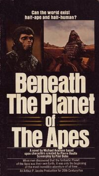 Beneath the Planet of the Apes Novelization