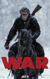 War For The Planet Of The Apes Official Teaser Poster