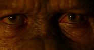 Caesar's eyes at the end of Dawn