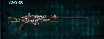 Snow aspen forest scout rifle soas-20
