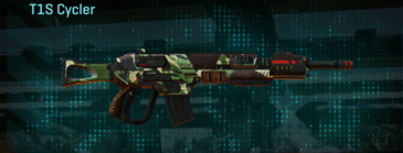 African forest assault rifle t1s cycler