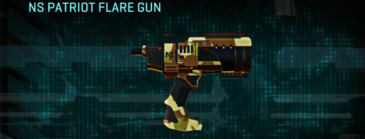 India scrub pistol ns patriot flare gun
