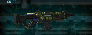 Jungle forest assault rifle gr-22