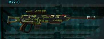 Jungle forest sniper rifle m77-b