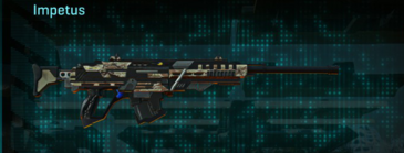 Arid forest sniper rifle impetus