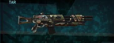 Woodland assault rifle tar
