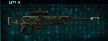 Clover sniper rifle m77-b