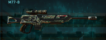 Scrub forest sniper rifle m77-b
