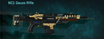 Sandy scrub assault rifle nc1 gauss rifle