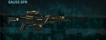 Temperate forest sniper rifle gauss spr