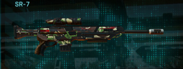 African forest sniper rifle sr-7
