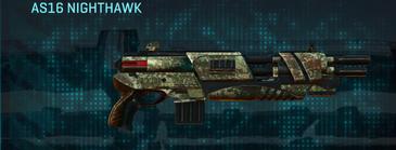 Pine forest shotgun as16 nighthawk
