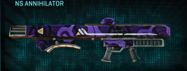 Vs alpha squad rocket launcher ns annihilator