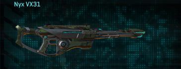 Amerish scrub scout rifle nyx vx31