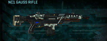Northern forest assault rifle nc1 gauss rifle