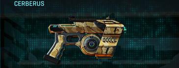 Sandy scrub pistol cerberus