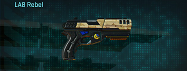 Sandy scrub pistol la8 rebel
