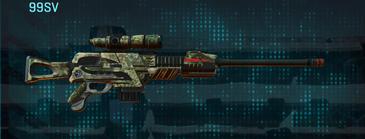 Pine forest sniper rifle 99sv