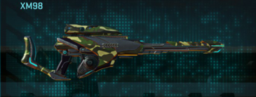 Temperate forest sniper rifle xm98