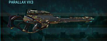 Woodland sniper rifle parallax vx3