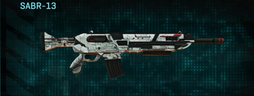 Rocky tundra assault rifle sabr-13