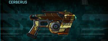 India scrub pistol cerberus