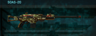 India scrub scout rifle soas-20