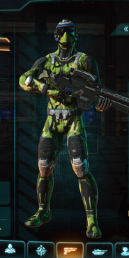 Nc jungle forest infiltrator