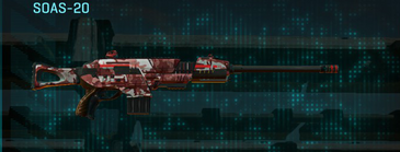 Tr urban forest scout rifle soas-20