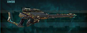 Woodland sniper rifle xm98