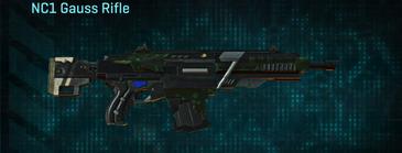 Clover assault rifle nc1 gauss rifle