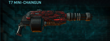 Tr digital heavy gun t7 mini-chaingun