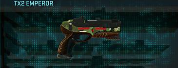 Jungle forest pistol tx2 emperor