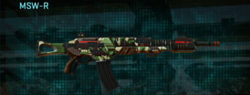 African forest lmg msw-r