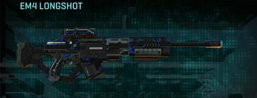 Nc loyal soldier sniper rifle em4 longshot
