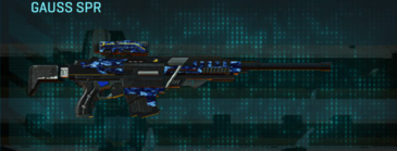 Nc digital sniper rifle gauss spr