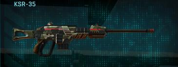 Woodland sniper rifle ksr-35